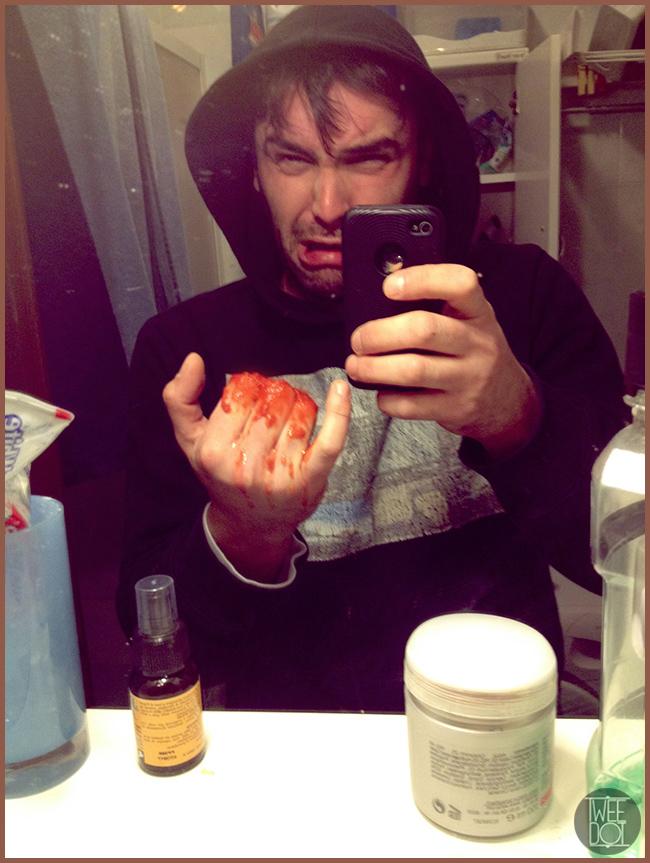 Tweedot blog magazine - Alessio Cadamuro foto - selfie macabro