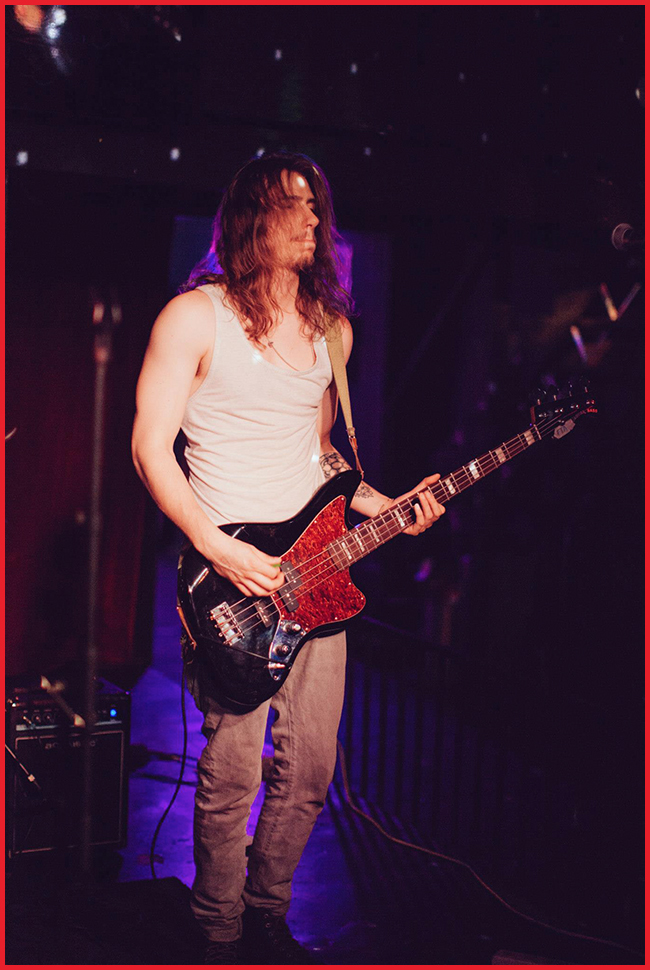 Tweedot blog magazine - Brian Duke Fire The Animal indie band bassist