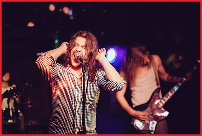 Tweedot blog magazine - Fire The Animal David Houts frontman singer