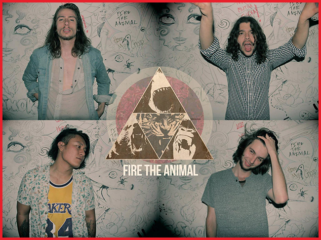 Tweedot blog magazine - Fire The Animal band