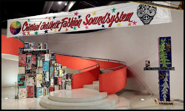 Tweedot blog magazine - Daniel Gonzalez Criminal Aesthetic Fashion Soundsystem Installation