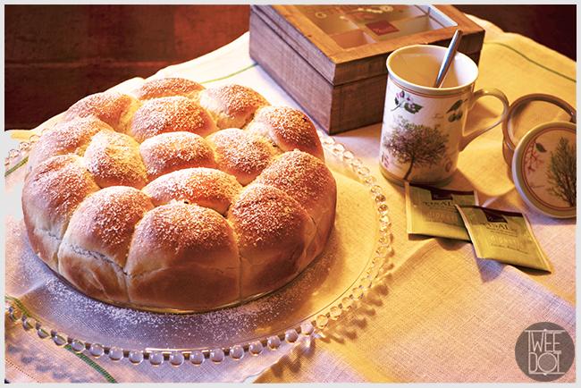 Tweedot blog magazine - dolce soffice Danubio ricetta con lievito madre