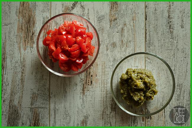 Tweedot blog magazine - Pasta corta al Kamut con basilico e pomodorini