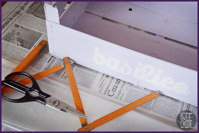 Tweedot blog magazine - trasformare una cassetta di legno in un semenzaio