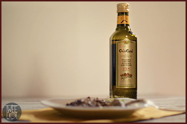 Tweedot blog magazine - Ricetta vegetariana con prodotti tipici liguri Olio Carli DOP