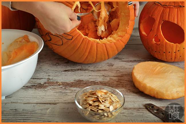 Tweedot blog magazine - come fare la zucca di Halloween