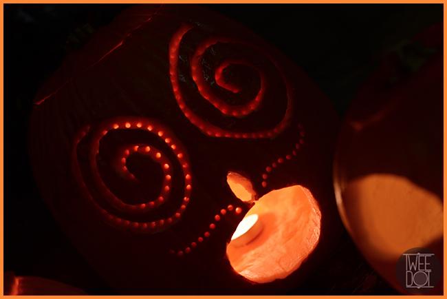 Tweedot blog magazine - decorazioni originali sulle zucche