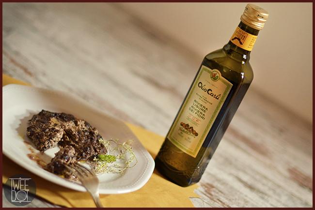 Tweedot blog magazine - funghi ripieni vegani con olio Carli evo dop zucca girasole e salsa di soia