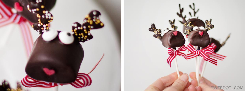 TWEEDOT - Marshmallow Natale - Idee per Marshmallow Natalizi